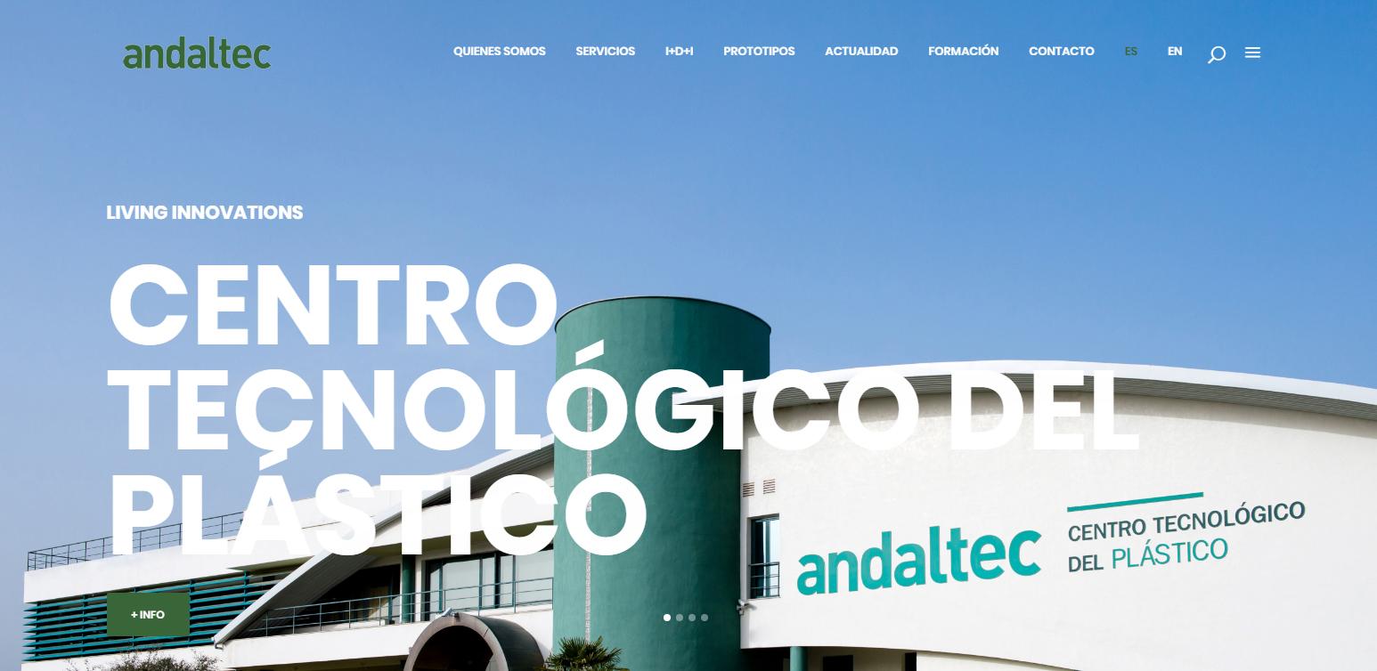 Nueva web Andaltec