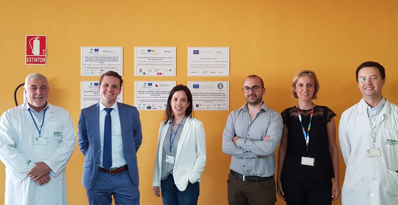 Visita Comisión Europea