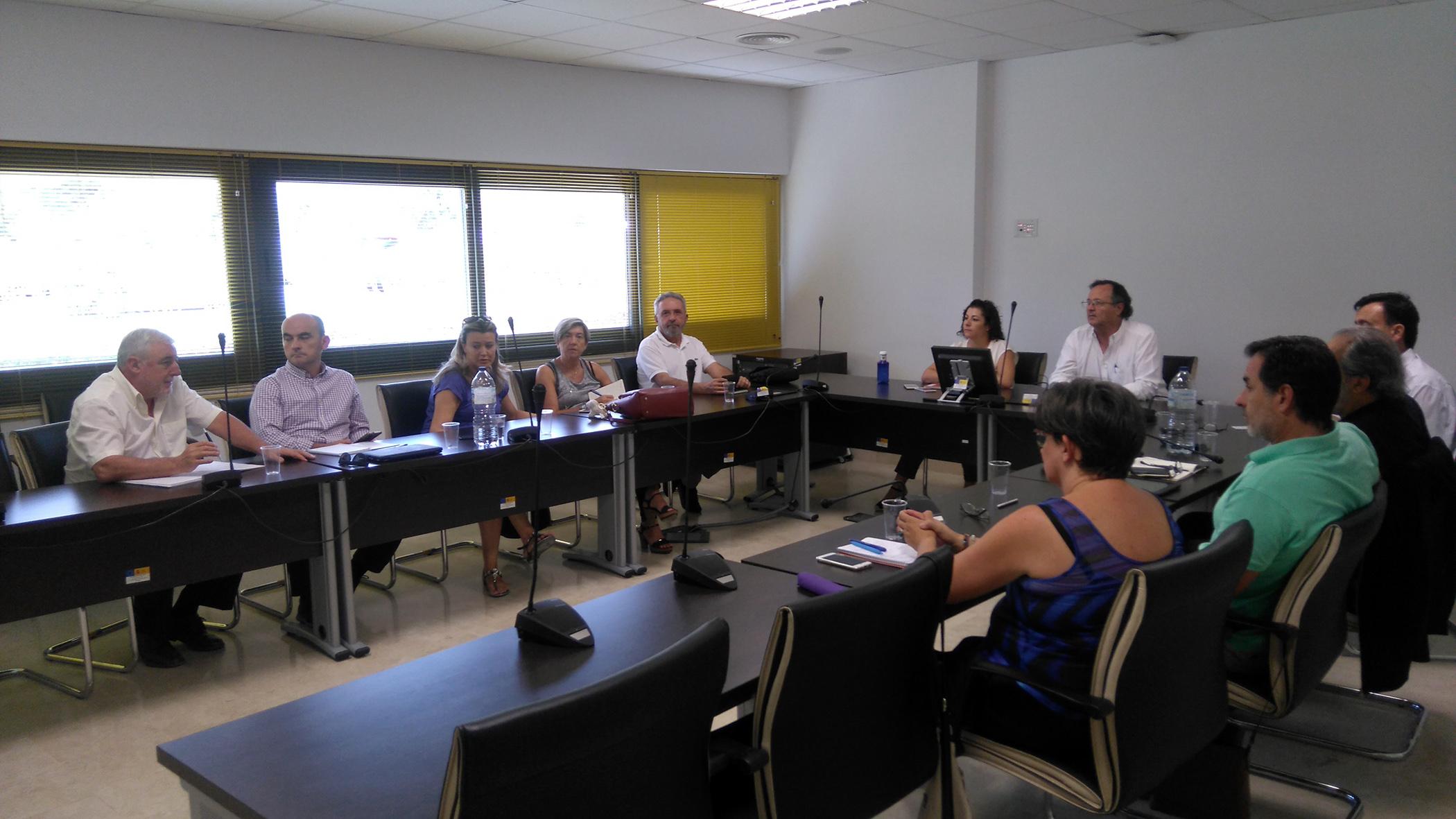 Reunión CT andaluces Málaga
