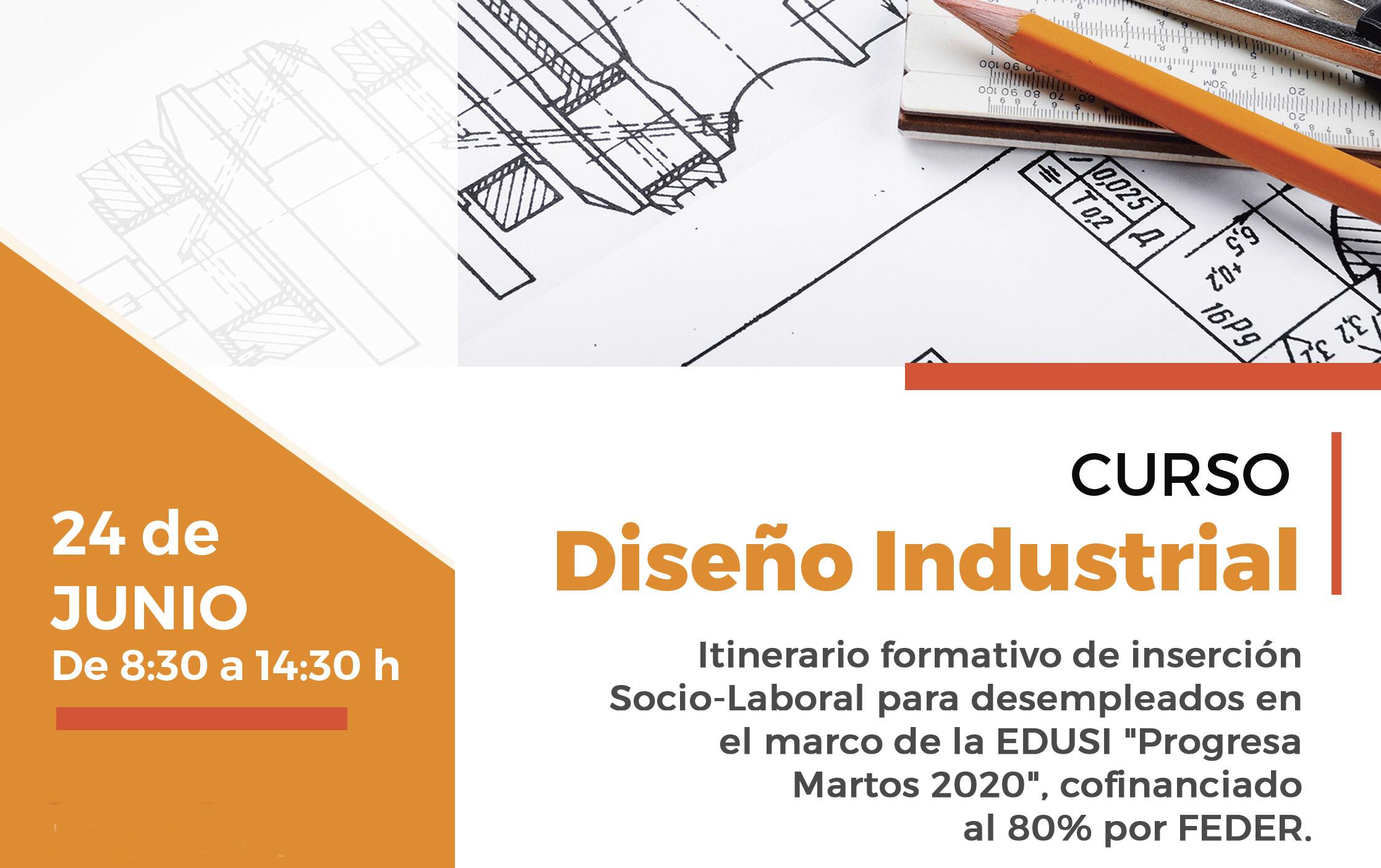 Cartel curso Diseño Industrial EDUSI